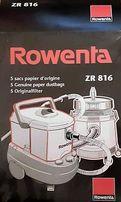 Мешки бумажные пылесборные Rowenta ZR 816 5шт