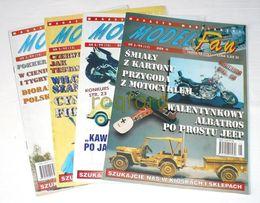 """Czasopismo dla modelarzy """"Model Fan"""" rok 1999"""