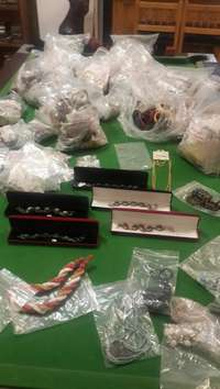 Image of Bags of Earings, Bangles, Rings,Necklaces and Bracelets for SALE