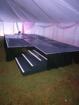 Stage And DJ Post Hire