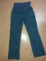 jeansy ciążowe XS idealne