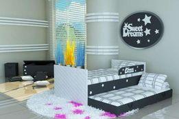 Sweet Dreams łózko piętrowe dla dzieci,łózko dziecięce,łóżko z materac