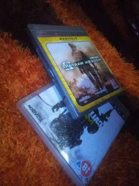 Call of duty mw3 and mw2