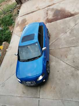 2008 audi S3 blue with 170 000kms on the clock, perfect condition,