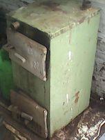 стальной твердотопливный котёл КСТГ 10 б\у мало дрова или гаЗ