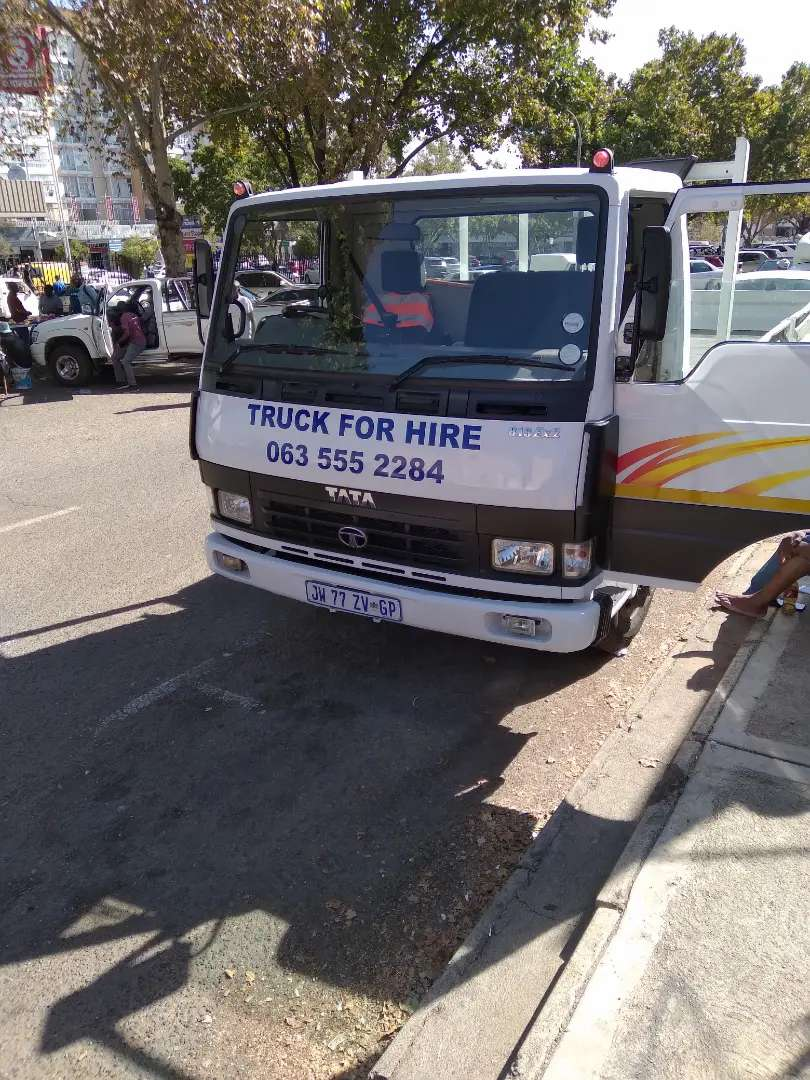 Truck Hire Long and short distance in and outside gauteng