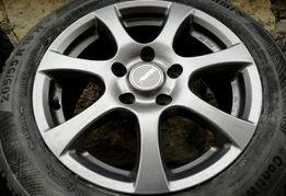 """Felgi aluminiowe Autec 16"""" 5x120 BMW z oponami zimowymi"""