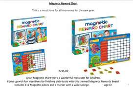 New Magnetic rewards chart
