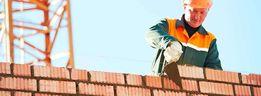Строительство домов под ключ. Кладка кирпича. Заливка фундамeнта