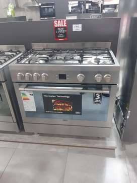 Defy 90cm gas and electric stove