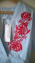Платье рубашка с вышивкой Glamorous Festival