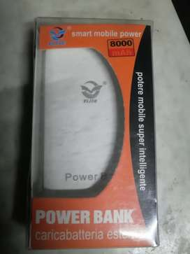 Brand New Powerbank With Light