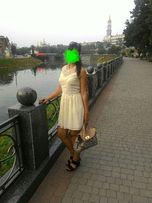 Белое летнее платье Chillin