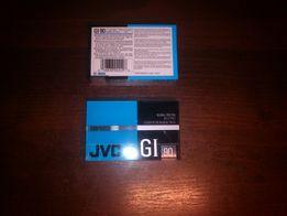 Касета JVC GI 90, аудиокассеты запечатанные