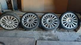 17 inch Mags with tyres