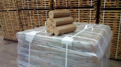 Топливные брикеты 100% ДУБ и пеллеты 6мм