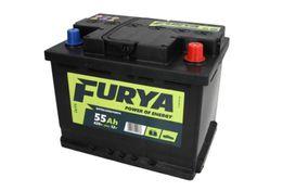 Akumulator 55Ah 420A BANNER FURYA Akumulatory Gwarancja Niskiej Ceny