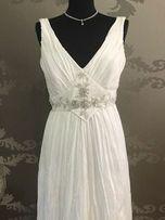Suknia ślubna Agnes 1815 r.40 ciąża księżniczka boho tiulowa A trapez