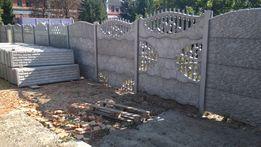 Еврозабор, монтаж забора, бетонный забор, столбы, рабица, сетка