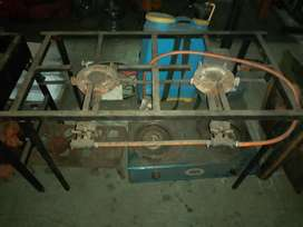 2 plate Gas stove