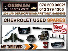 CHEVROLET USED SPARES FOR SALE