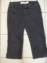 NEXT dżinsy jeansy rybaczki pas 80 cm regular