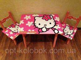 Детский столик и два стула