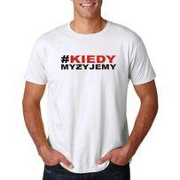 koszulka # biała rozm m-xxl