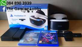PlayStation VR and 2 Games