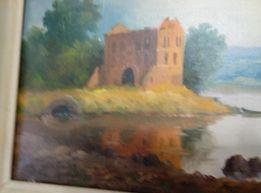 Работа художника П.Сендера - холст, масло.