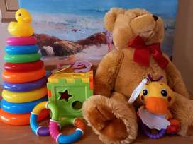 Baby toys with cute bear