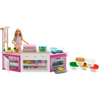 Игровой набор Barbie «Готовим вместе» Барби Барбі кухня