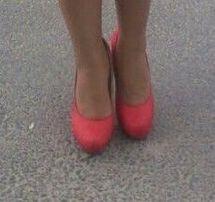 Czerwone buty 38