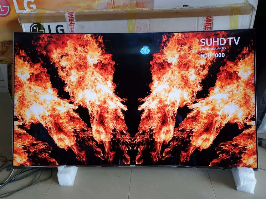 """SUHD/HDR/CURVED 55""""SAMSUNG SMART 4K TV 0"""