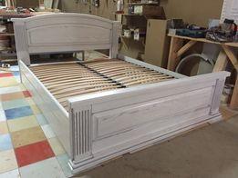 Ліжко з масив бука 200х160 / Ліжко з дерева