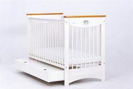 Nowe łóżeczko LAURA z szufladą Drewex 120x60 cm 3 kolory