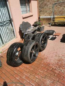 """20"""" Rims and tyres"""