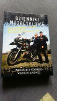 Ksiąźka dzienniki motocyklowe wojtek ilkiewicz