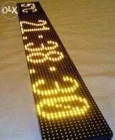 """Светодиодная вывеска - """"Бегущая строка"""" 1.3 метра"""