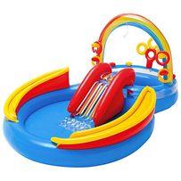 Детский надувной центр бассейн Intex 57453 Радуга 297 х 193 х 135 см