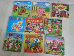 Zestaw 9 książeczek dziecięcych