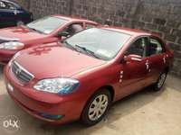 Foreign used 2007 Toyota corolla. Direct tokunbo 0