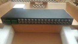 Aktywny transformator kamer analogowych 16 kanałowy UTP BNC