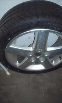 "Image of 750Audi 17"" rim and brand new tyre for sale"