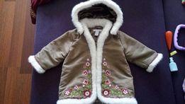 Дублёнка пальто h&m р.80