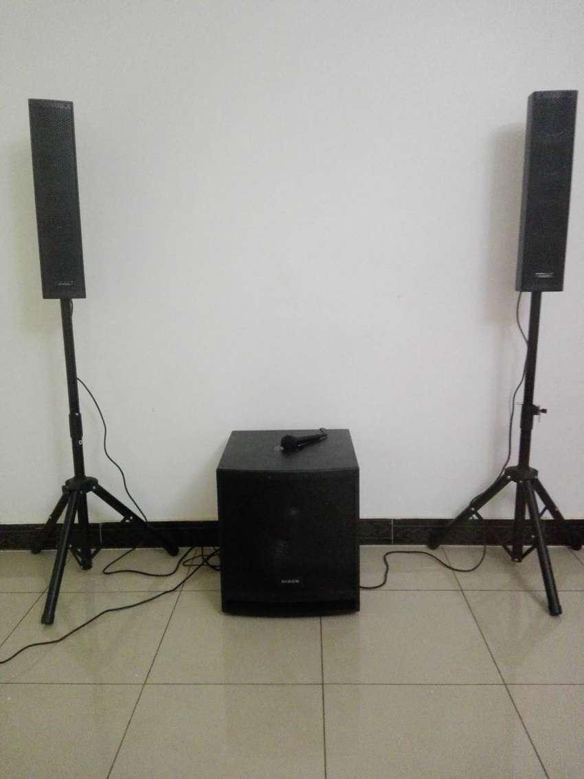 DIXON PURE SLIM All in one PA sound system 0