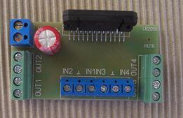Усилитель звука підсилювач квадро 4*50 Вт на TDA7386