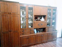 Шкаф буфет стенка сервант набор мебели антресоль