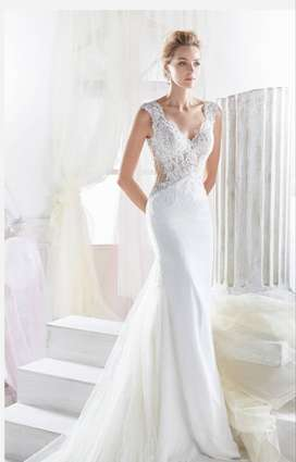 Nicole Spose wedding dress for sale