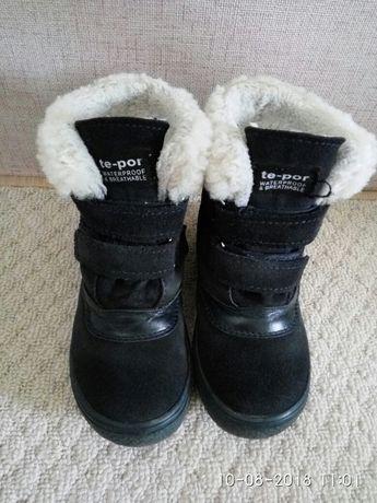 Польские зимние замшевие ботинки Mrugyla, 26 размер Киев - изображение 2